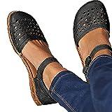 Sandali Donna Primavera Estate Casuali Mocassini Pantofole alla Caviglia Moda Chiuso Scarpe da Lavoro Ciabatte All'aperto