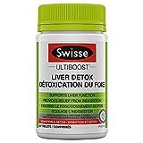 Swisse Wellness Swisse Ultiboost Liver Detox Tablets, Traditional Herbal Supplement, 60 Count 0.091