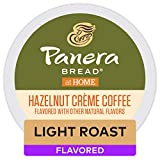 Panera Bread Hazelnut Crème, Single-Serve Keurig K-Cup Pods, Flavored Light Roast Coffee, 72 Count