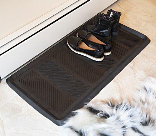 Ottomanson Rubber Doormat, 16' x 32' Rectangle