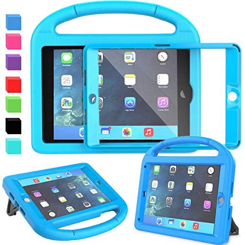 "AVAWO Kids Case for iPad Mini 1 2 3 (Just fit Mini 1/2/3, Not Fit Mini 4/5)- Built-in Screen Protector Light Weight Shockproof Kids Cover for 7.9"" iPad Mini 1st & 2nd & iPad Mini 3rd Generation - Blue"