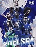 """Chelsea 2022 Calendar: Soccer Calendar 2022, SPORT Calendar 2022-2023 – 18 months – BIG SIZE 17""""x11"""". Planner for all fans kids boys"""