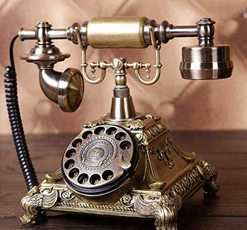ZXL Creative Rotate Telefoon Antieke Europese Stijl Landelijke Retro Telefoon Huishoudelijke stoel Kantoortelefoon (Kleur : #1)