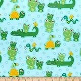 Comfy (R) Flanell-Druck, Alligatoren, Frösche, Schlangen,