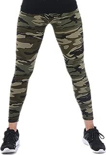 Tamskyt Womens Ultra Soft High Waist Printed Camo Leggings