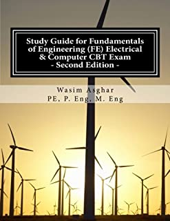 Study Guide for Fundamentals of Engineering (FE) Electrical & Computer CBT Exam: Practice over 500 solved problems with detailed solutions including Alternative-Item Types