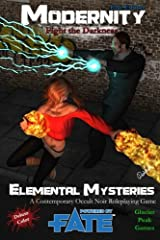 Elemental Mysteries for Modernity (Fate Edition) Deluxe Color: Fight the Darkness Paperback