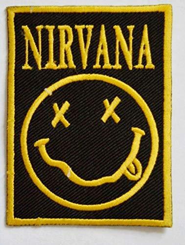 PSL Parche bordado de Nirvana Rock Music Band para planchar o coser