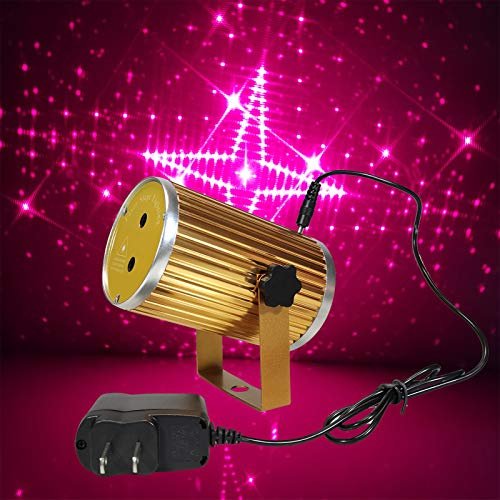 IKSACE Mini Stage Laser Lights,led Laser Stage Lighting Projector Aurora Stars Show Spotlight Sound Activated light for Christmas Holiday Home Party Disco Birthday DJ Party Dance Xmas Gift