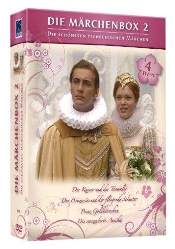 Die Märchenbox 2 (4 DVDs: Der Kaiser und der Trommler, Die Prinzessin und der fliegende Schuster, Prinz Goldkörnchen, Die verzauberte Anicka)