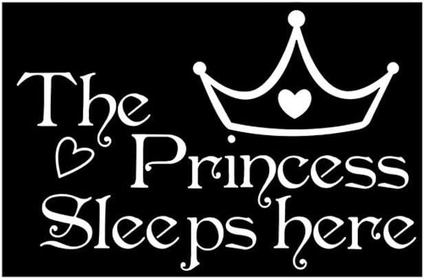 RYGHEWE Wall half quality assurance Stickers for Kids - The Here Sleep Flowe Princess