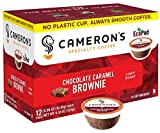 Cameron's Coffee Single Serve Pods, Flavored, Chocolate Caramel Brownie, 12 Count (Pack of 1)