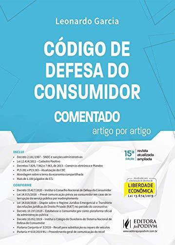Código de Defesa do Consumidor Comentado Artigo Por Artigo - 15ª Edição 2020