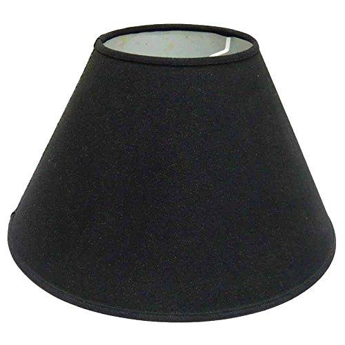 Better & Best 0205454–Lampenschirm aus Baumwolle, 45cm, glatt, schwarz