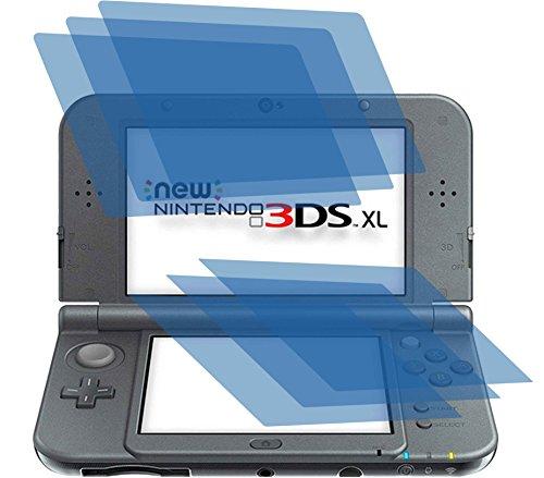I 6x ANTIREFLEX matt Schutzfolie für New Nintendo 3DS XL Konsole (je 3 Folien pro Display) Premium Displayschutzfolie Bildschirmschutzfolie Display Schutz Schutzhülle Displayschutz Displayfolie Folie