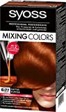 Syoss Mixing Colors Coloration 6-77 Sattes Kupfer, 3er Pack (3 x 135 ml)