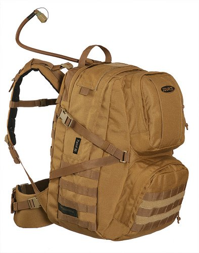 Source Patrol 35L Hydration Cargo Pack, Coyote