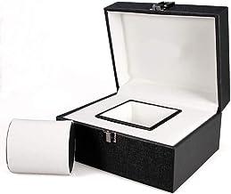 GPWDSN Lederen Horloge Box - Enkele Horloge Doos Met Lock Case Horloge Verpakking Doos Wit