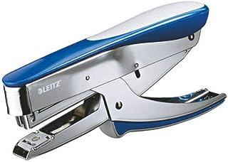 Leitz Pince Agrafeuse, Capacité 30 Feuilles, Bleu, Boîtier Métallique Ergonomique Avec Softgrip, Chargement par le Haut, U...