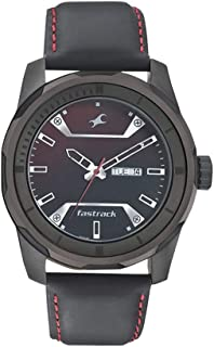 Fastrack Men's's Multicolour Dial Color Stainless Steel Strap Watch - 3166KL02