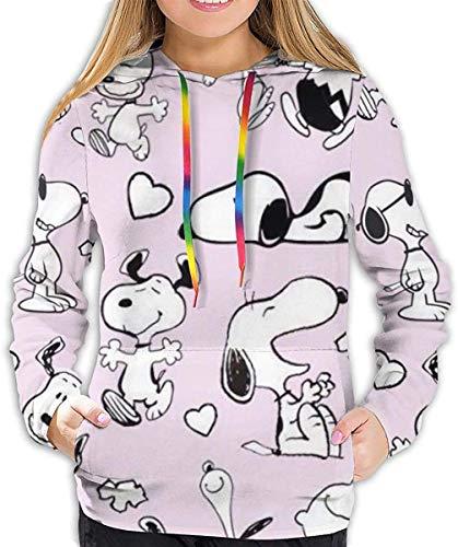 Snoopy - Sudadera con capucha para mujer con estampado 3D