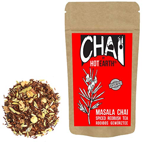 Hot Earth Chai: Ruby - Spiced Redbush Tea - Masala Chai (400g - Pouch)