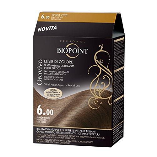 Biopoint Orovivo Tinta per Capelli (Tono Biondo scuro 6.0) - 30 ml.