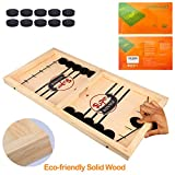 Fast Sling Puck Game ,Slingshot Games Toy,Paced Winner Board Games Toys for Kids & Adults