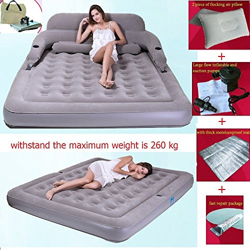 Best Deals! Inflatable Bed Inflatable Mattress Can Be Folded Disassembly Combination Air Cushion Bed...