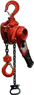 1年保証付 新型ミニレバーホイスト1.6ton レバーホイスト1600kg(1.6トン) チェーンホイスト 手動式 荷締機[荷締め 荷締め機 レバーブロック 手動式レバーブロック チェーンガッチャ チェーンブロック ホイストガッチャ がっちゃ ...