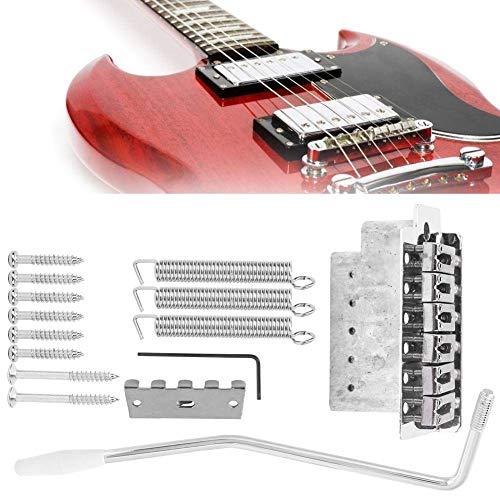 cersalt Hochwertige umweltfreundliche E-Gitarren-Parts, Softpad-E-Gitarren-Tremolo, gratfreie Oberfläche für Heimgitarren-DIY-Violine