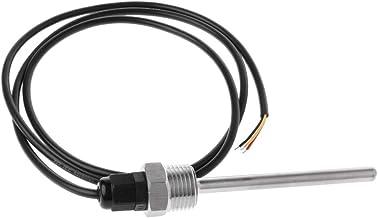 BIlinli DS18B20 Sensor de Temperatura Digital Sonda de Rosca G1 / 2