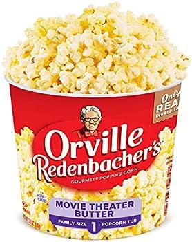 Orville Redenbacher's Butter Popcorn Tub, 3.9 Ounce