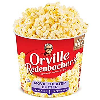Orville Redenbacher's Movie Theater Butter Popcorn Tub 3.9 Ounce Pack of 12