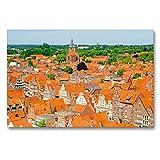 CALVENDO Blick auf die Altstadt vom Wasserturm, Lüneburg