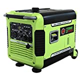 Green-Power America GPG3500iE 3500W Inverter Generator, Green/Black