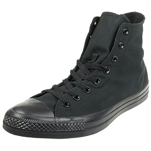 Converse Chuck Taylor All Star Hi Sneakers, Zapatillas Unisex Adulto, Negro (Black Monochrome), 44 EU