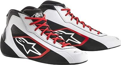 alpinestars(アルパインスターズ) TECH 1-K START KART SHOES WHITE/BLACK/RED 9 2711518-213-9