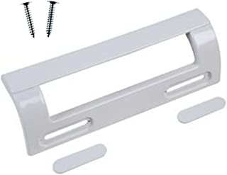 Pack de 2, 190/mm, Gris//Plata Spares2go tirador de puerta para Smeg Frigor/ífico Congelador