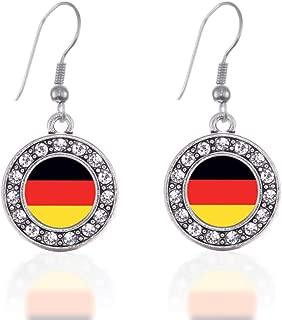 german flag earrings