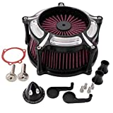 KIPA Sport Air Filter Cleaner intake kit For Sportster Iron 883 XL883 XL1200 48 72 1991-2019, CNC Machined, Durable, Stable