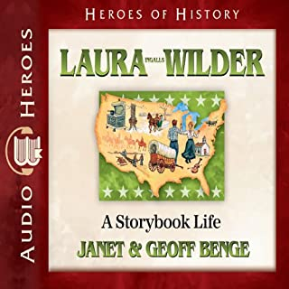 Laura Ingalls Wilder audiobook cover art