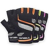 Sanabul New Item Paw V.2 Gel Boxing MMA Kickboxing Cross Training Handwrap Gloves (Orange, S/M)