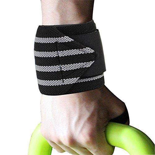 Oliked Handgelenkbandage(1-PCS Wrist Wraps (59cm) - Profi Bandagen für Kraftsport, Fitness, Bodybuilding, Handgelenkstütze für Frauen und Männer