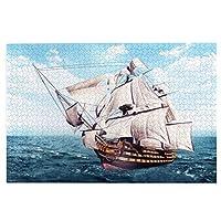 1000ピース ジグソーパズルantique Nautical Ship パズル ジグソーパズル 木製 超ミニピース ジグソーパズル 減圧 大人 おもちゃ コレクション 贈り物 75cmx50cmパズル ジグソーパズル 木製 超ミニピース ジグソーパズル 減圧 パズル 教育 ゲーム 想像力を刺激し75cmx50cm