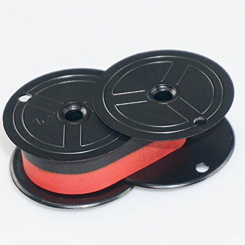 Nu-Kote BR80C Nylon Calculator Ribbon (Black/Red)