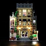 LIGHTAILING Light Set for (Creator Expert Police Station Building Blocks Model - Led Light kit Compatible with Lego 10278 (NOT Included The Model)
