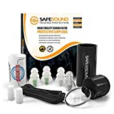 Audiopure #1 Hi Fidelity Earplugs for Concerts, Music Festivals, Musicians, Motorcycles, Noise Sensitivity etc. Free App Included. Best Hearing Protection, NRR Rated Noise Filter Ear Plugs