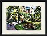 1art1 August Macke - Gartenbild, Der Mackische Garten In