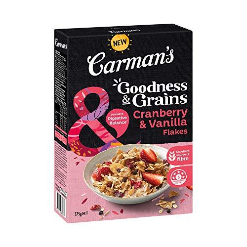 Carman's Goodness & Grains Cranberry and Vanilla Flakes, 375 g